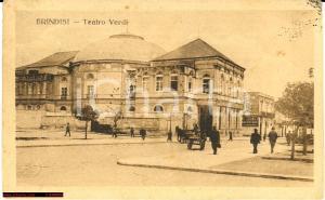 1921 Brindisi Teatro Verdi - Corso animato *Rara