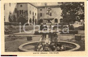 1945 Goito (MN) Villa Giraffa - Veduta d'epoca