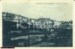 Montepulciano anni '30 - Toscana *Veduta generale