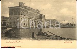 1905 Livorno Capitaneria Porto - Vista animata *NV