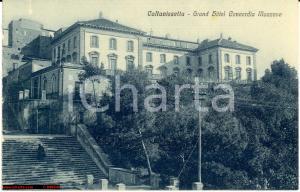 1935 Caltanissetta Hotel Concordia Mazzone Animata