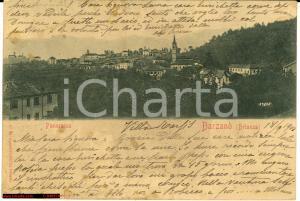 1903 Barzanò (Lecco) Brianza - Veduta generale d'epoca