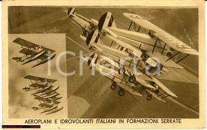 1933 Aeroplani e Idrovolanti italiani in formazioni serrate