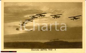 1932 Giornata dell'Ala, aerei biplani Fiat CR 20 in formazione