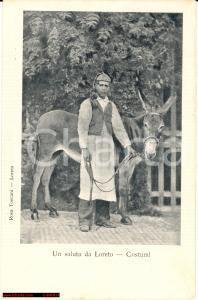 1900 LORETO (AN) Costumi tipici - FP NV