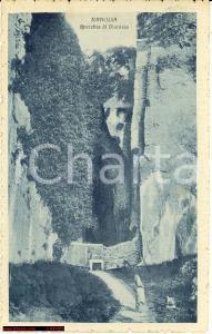 1918 SIRACUSA Orecchio di DIONISO *Cartolina postale ANIMATA FP VG