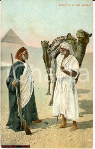 1930 ca CAIRO (EGITTO) Beduini nel deserto ILLUSTRATA