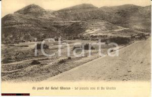 1930 ca BU GHEILAN (LIBIA) Oasi ai piedi GEBEL GHARIAN