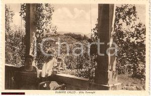 1930 ca OLGIATE CALCO (LC) Villa TORNAGHI ANIMATA FP NV