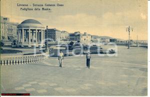 1937 LIVORNO Terrazza Costanzo CIANO Animata FP NV