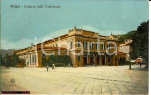 1920 ca TRIESTE Stazione della Meridionale FP NV