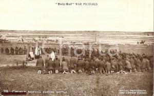 1916 LONDRA Soldati in preghiera DAILY MAIL ANIMATA