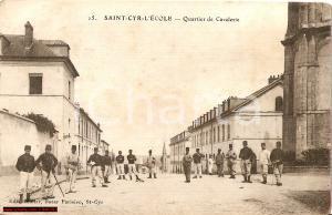 1914 FORT DE ST CYR Quartieri cavalleria ANIMATA FP VG