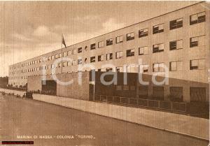 1948 MARINA DI MASSA (MS) Colonia Torino Animata FG VG