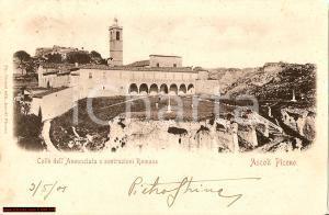 1901 ASCOLI PICENO Colle dell'Annunziata SCUOLA AGRARIA