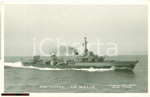 1935 circa WW2 Incrociatore LE MALIN Destroyer Ship FP