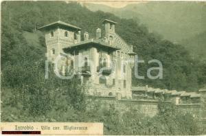 1920 INTROBIO LC Prospettiva villa Antonio MIGLIAVACCA