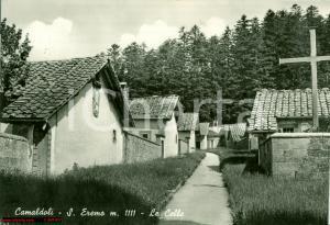 1959 POPPI (AR) Le celle dell'eremo di CAMALDOLI FG VG