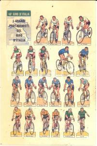 1966 49° GIRO D'ITALIA I grandi protagonisti  FG NV