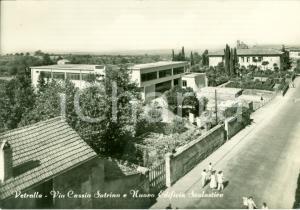 1958 VETRALLA (VT) Nuova scuola in via CASSIA SUTRINA