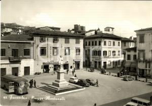 1963 FUCECCHIO (FI) Piazza Pietro MONTANELLI *Animata