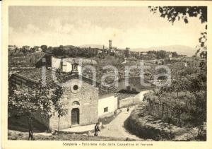 1951 SCARPERIA (FI) Panorama da cappellina di FERRONE