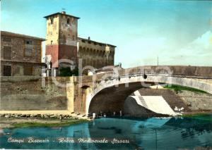 1955 ca CAMPI BISENZIO (FI) La rocca medievale STROZZI