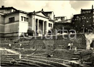 1957 FIESOLE (FI) Il teatro romano *Cartolina ANIMATA