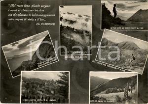 1957 CANTAGALLO (PO) Vedutine della frazione FOSSATO FG