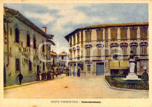 1945 SESTO FIORENTINO FI La Casa del Fascio ILLUSTRATA