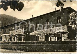 1950 ca. VALLOMBROSA Pensione ristorante VILLA MEDICI