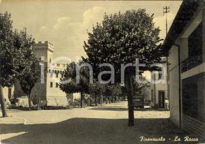 1956 FIRENZUOLA (FI) Veduta della Rocca ANIMATA FG VG