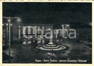 1957 FOGGIA Nuova fontana della stazione ferroviaria FG