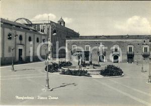 1950 ca MANFREDONIA (FG) Veduta di piazza DUOMO FG NV