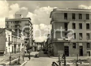 1962 SAN SEVERO (FG) Via DAUNIA con distributore AGIP