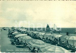 1955 CESENATICO (FC) Veduta della spiaggia  ANIMATA FG