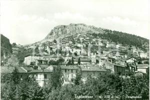 1954 TAGLIACOZZO (AQ) Panorama della città *Cartolina FG VG