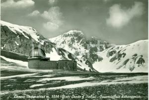 1950 GRAN SASSO D'ITALIA Osservatorio CAMPO IMPERATORE Cartolina FG NV
