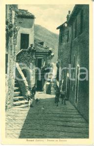 1920 ca NORMA (LT) La discesa EX BARONE Animata Cartolina FP NV