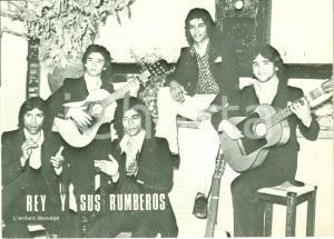 1975 REY Y SUS RUMBEROS Biglietto pubblicitario Eric DE HULLESSEN