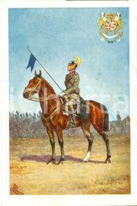 1930 ca NIZZA CAVALLERIA Cartolina Illustrata CENNI FP NV