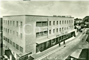 1955 CHIETI Grande Albergo ABRUZZO distributore SHELL Cartolina FG NV