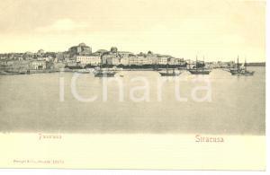 1900 ca SIRACUSA PANORAMA *Cartolina FP NV