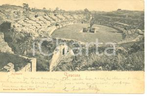 1903 SIRACUSA ANFITEATRO*Cartolina FP VG