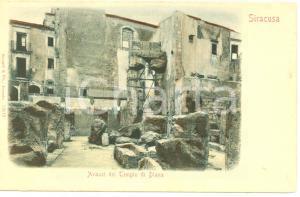 1903 SIRACUSA Avanzi del TEMPIO di DIANA *Cartolina FP NV