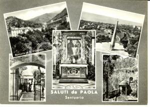 1963 PAOLA (CS) Vedutine della città *Cartolina FG VG