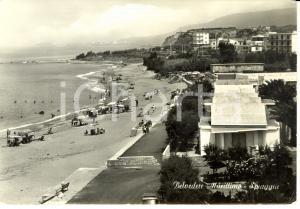 1975 BELVEDERE MARITTIMO (CS) Vista della spiaggia *Cartolina FG NV