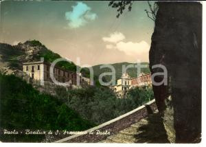 1960 ca PAOLA (CS) Basilica di San Francesco di Paola *Cartolina FG NV