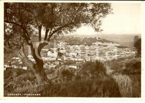1936 COSENZA Panorama della città *Cartolina FG NV