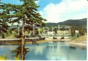 1957 SPEZZANO DELLA SILA (CS) Veduta del Lago Cecita *Cartolina FG VG